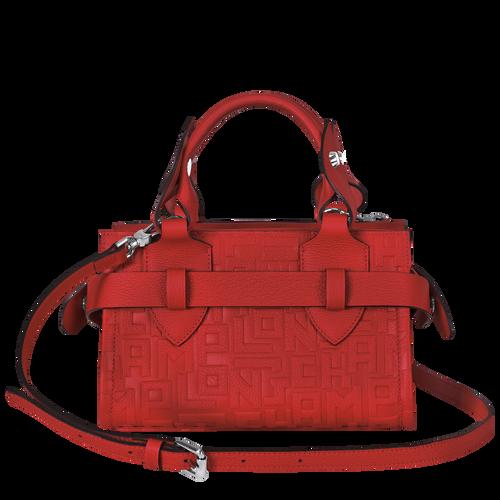 View 3 of Small tote bag, Burnt Red, hi-res