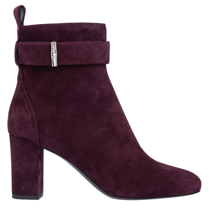 Ankle boots, Aubergine - View 1 of 2 - zoom in