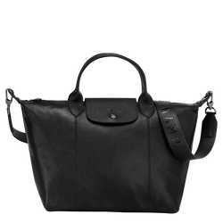 Top handle bag M, Black/Ebony