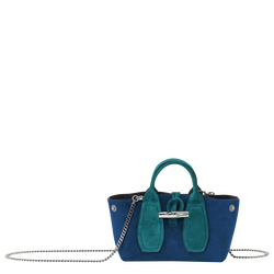 Top handle bag S, Midnight blue, hi-res