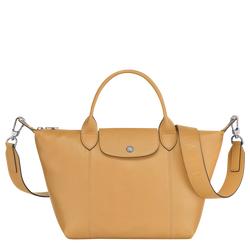 Top handle bag S, Honey