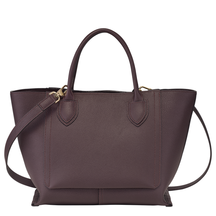 Handtasche M, Aubergine - Ansicht 3 von 4 - Zoom vergrößern