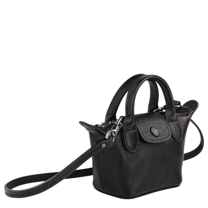 Crossbody bag XS, Black/Ebony - View 2 of  4 - zoom in