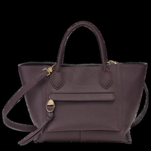 Top handle bag M, Aubergine - View 1 of  4 -