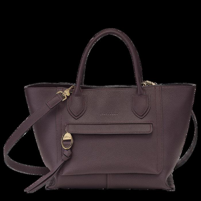 Top handle bag M, Aubergine - View 1 of  4 - zoom in