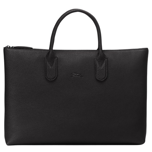 Briefcase S, Black/Ebony - View 1 of  3 -