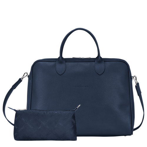 Briefcase L, Navy - View 4 of 4 -