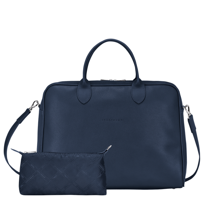 Briefcase L, Navy - View 4 of 4 - zoom in