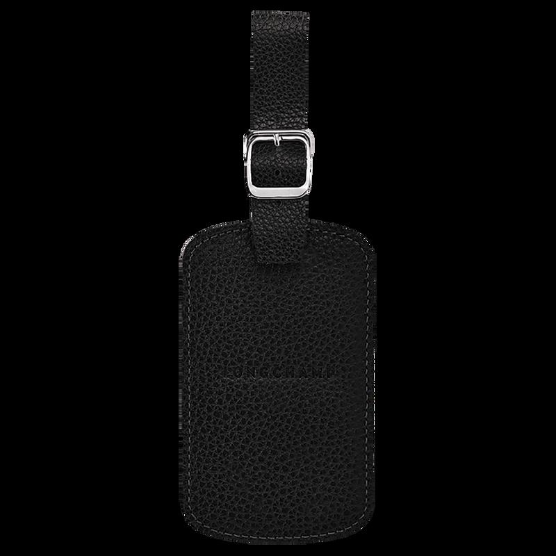 Le Foulonné Luggage tag, Black