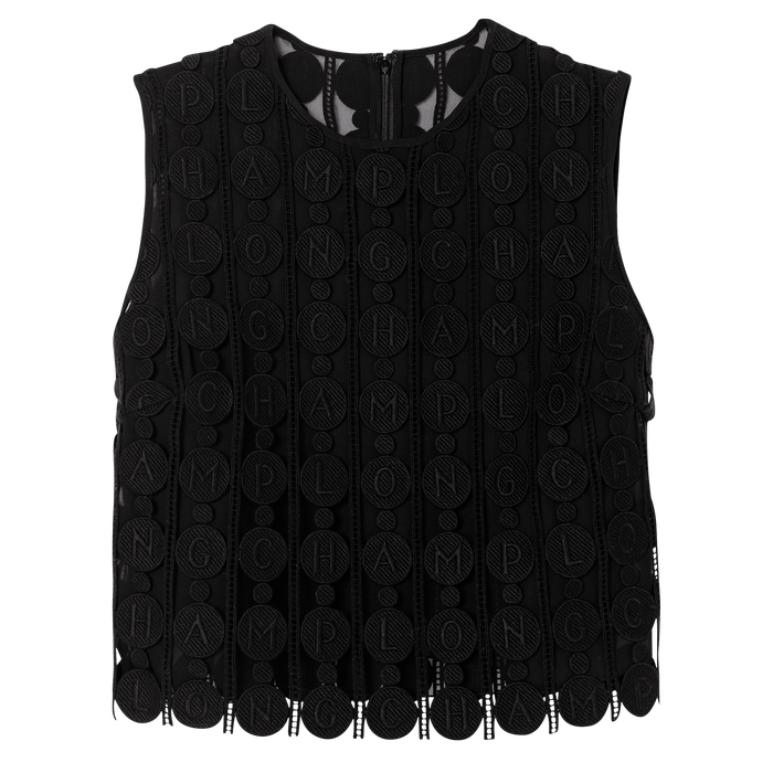 Spring-Summer 2021 Collection Top, Black
