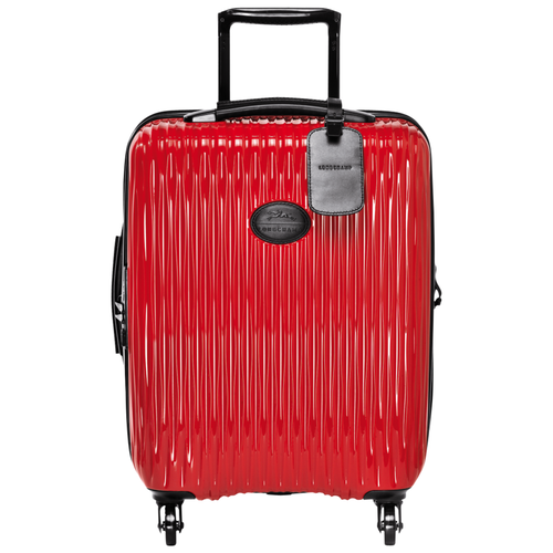 Small wheeled suitcase, Red, hi-res - View 1 of 3