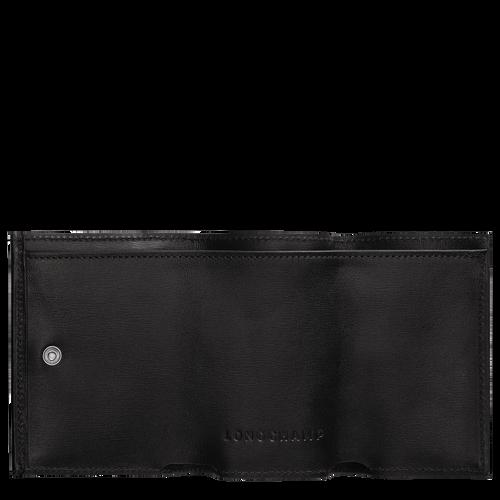 Roseau 小型錢包, 黑色