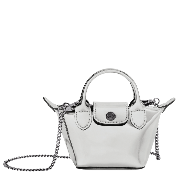 Crossbody bag XS, Silver - View 1 of  3 - zoom in