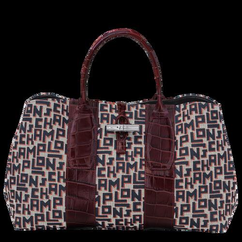 Top handle bag L, Mahogany - View 1 of 4 -