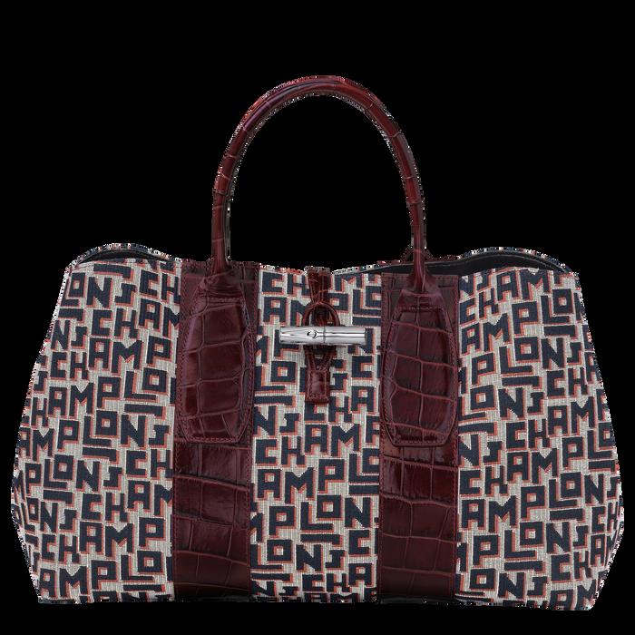 Top handle bag L, Mahogany - View 1 of 4 - zoom in