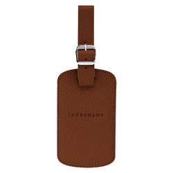 Luggage tag, 504 Cognac, hi-res