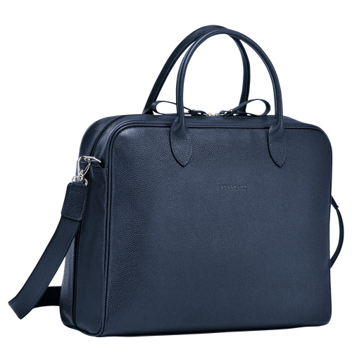 Briefcase M, Navy - View 2 of 3 -
