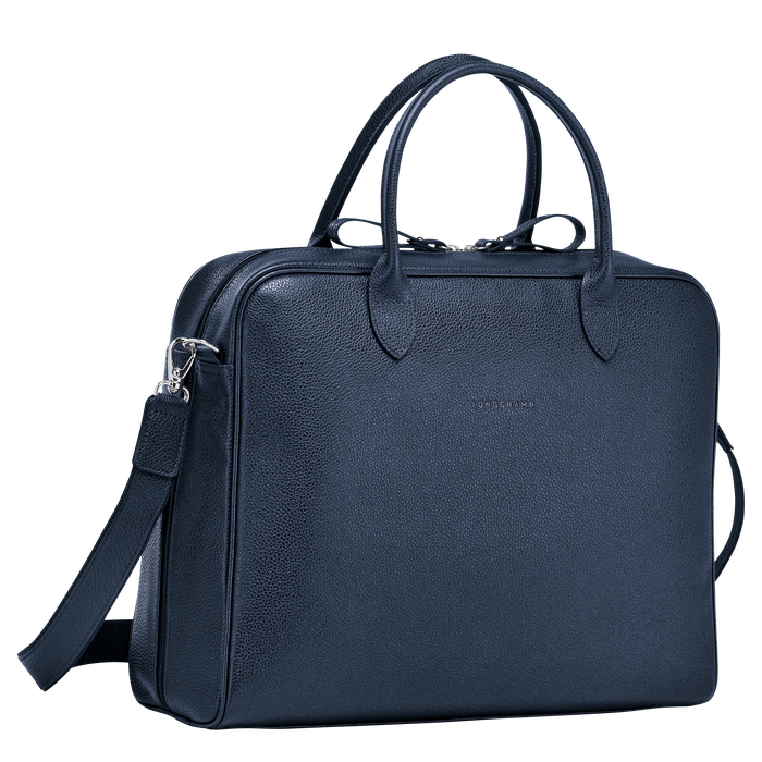 Briefcase M, Navy - View 2 of 3 - zoom in