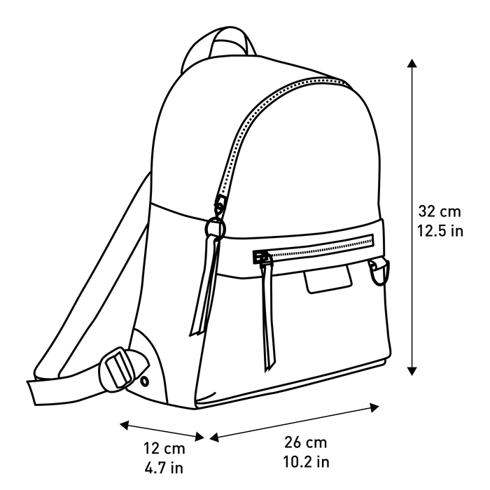 Backpack S, Black, hi-res - View 4 of 4