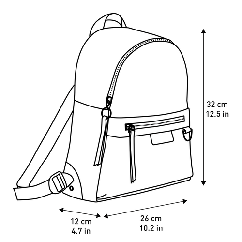 Backpack S, Navy, hi-res - View 4 of 4