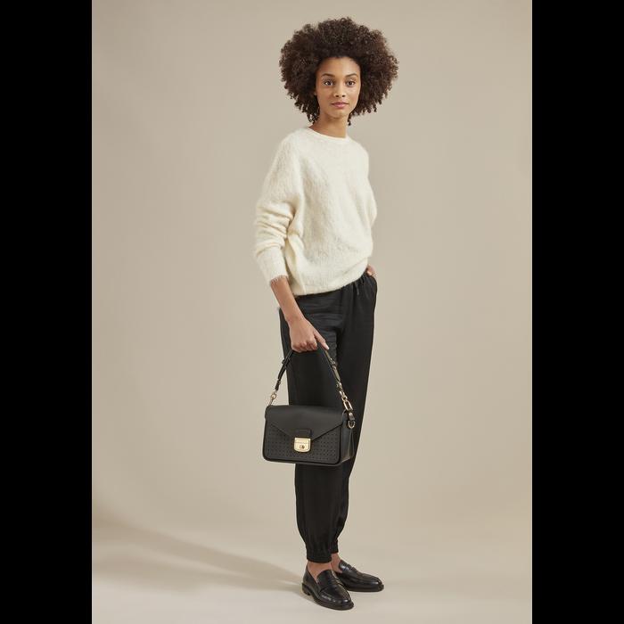 Mademoiselle Longchamp Crossbody bag S, Black