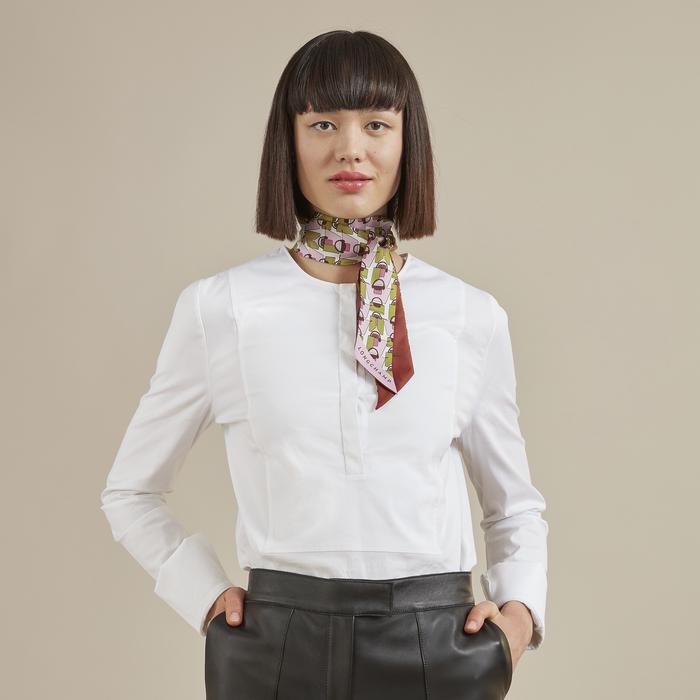 2021 秋冬系列 絲質緞帶, 玫瑰色