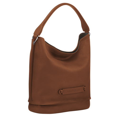 Hobo bag, Cognac, hi-res - View 2 of 3