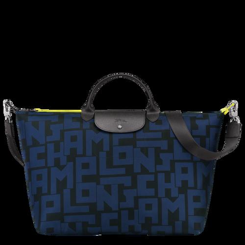 Reisetasche L, Schwarz/Marine - Ansicht 1 von 3 -