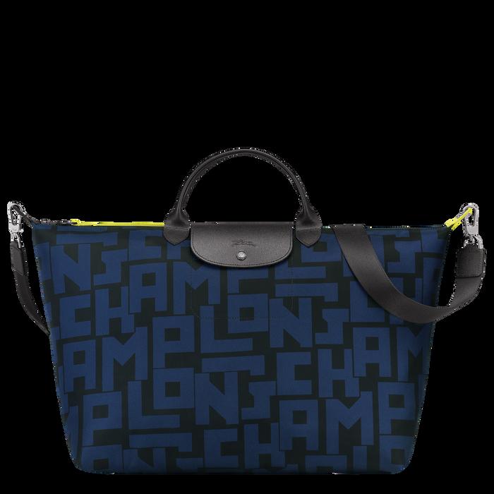 Reisetasche L, Schwarz/Marine - Ansicht 1 von 3 - Zoom vergrößern