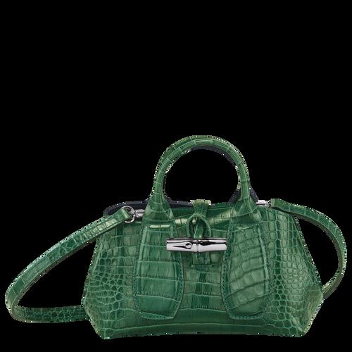 Top handle bag XS, Green havana - View 1 of  4 -