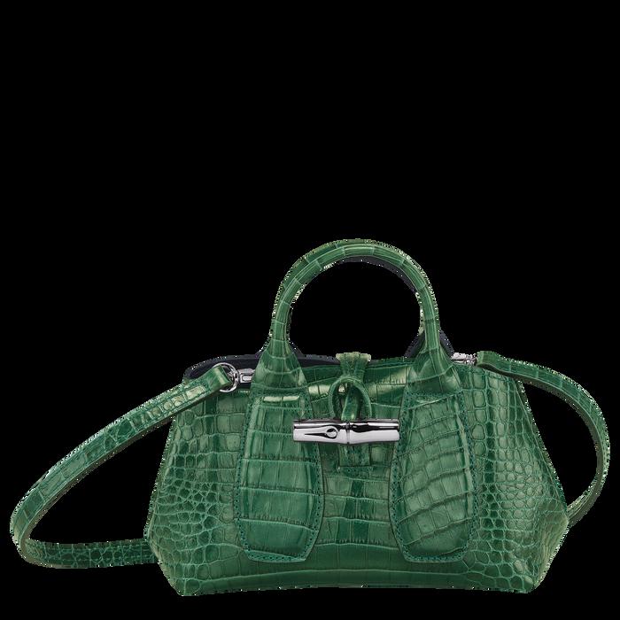 Top handle bag XS, Green havana - View 1 of  4 - zoom in