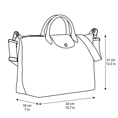 Le Pliage Néo Top handle bag L, Black