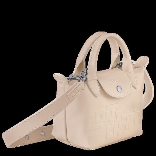 Mini-Handtasche, Kreide, hi-res - View 2 of 3