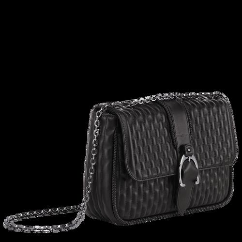 Crossbody bag M, Black, hi-res - View 2 of 3
