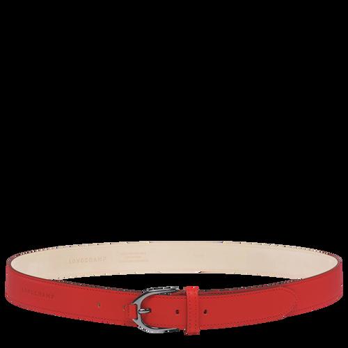 View 1 of Women's belt, 608 Vermilion, hi-res