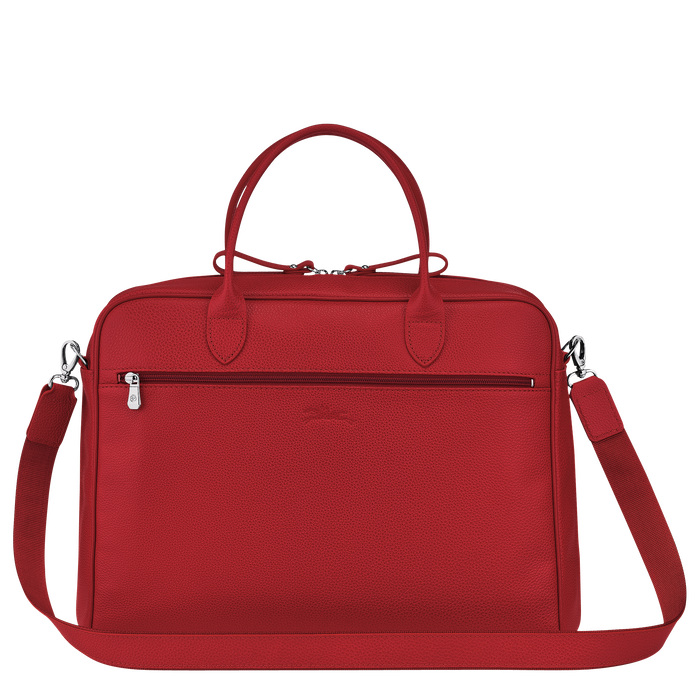 Briefcase M, Red, hi-res - View 3 of 3