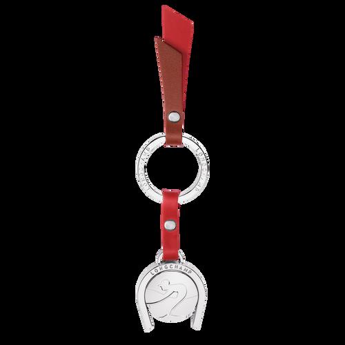 View 1 of Key ring, Chestnut/Red Orange, hi-res