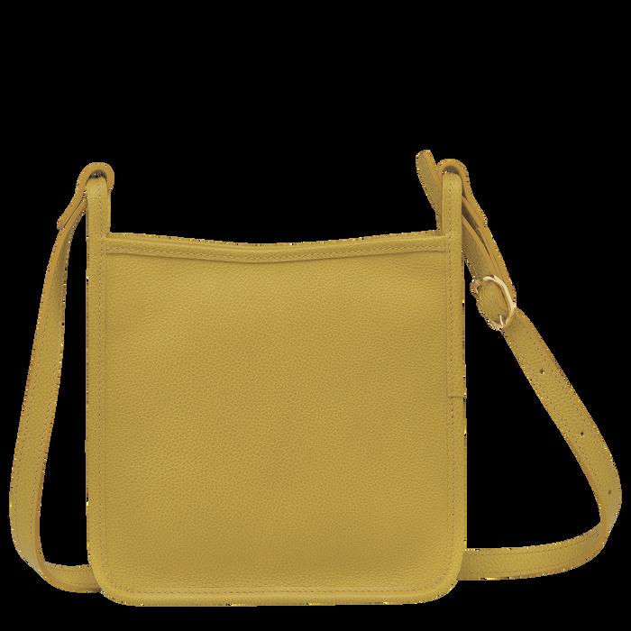 Le Foulonné Zipped crossbody bag S, Mimosa