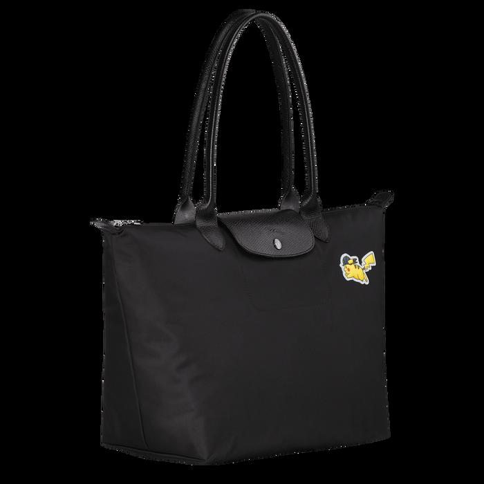Shoulder bag L, Black/Ebony - View 2 of  3 - zoom in
