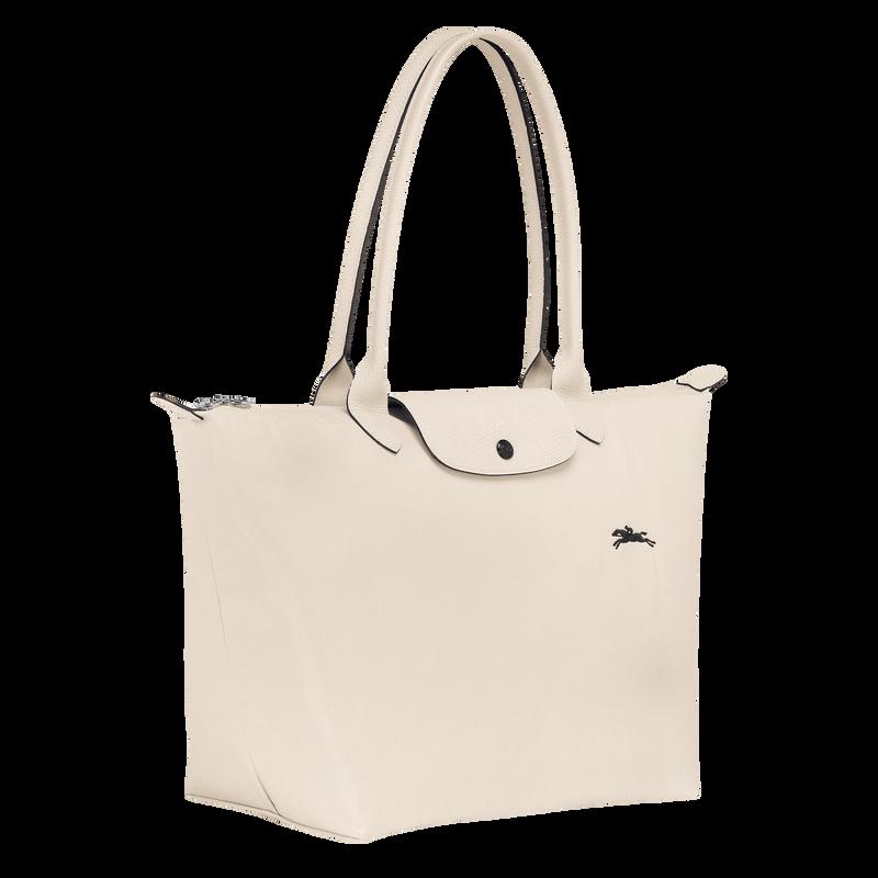 Le Pliage Club Shoulder bag L, Chalk