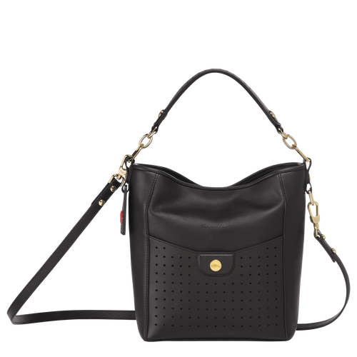 Small bucket bag, Black, hi-res - View 1 of 3