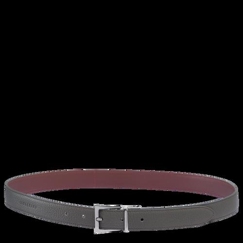 Women's belt, Grey/Brandy, hi-res - View 1 of 1