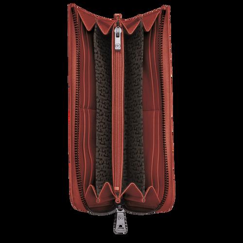 Portefeuille long zippé, Sienne, hi-res - Vue 2 de 2