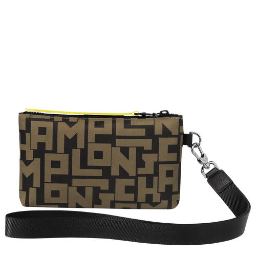 Pouch, Black/Khaki, hi-res - View 3 of 3