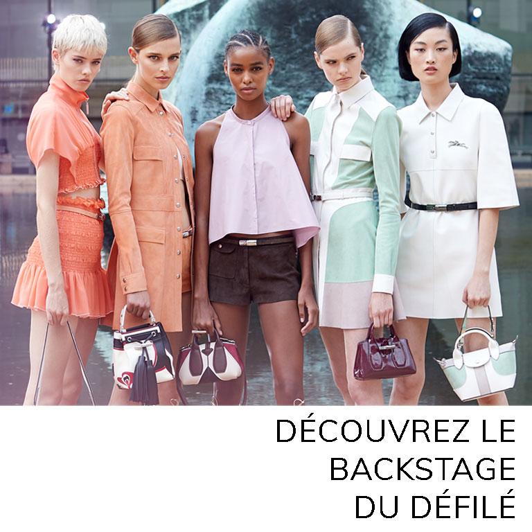 Women 2020 Spring Summer Fashion show | Longchamp CA